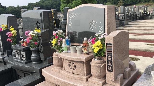 お墓参りの作法