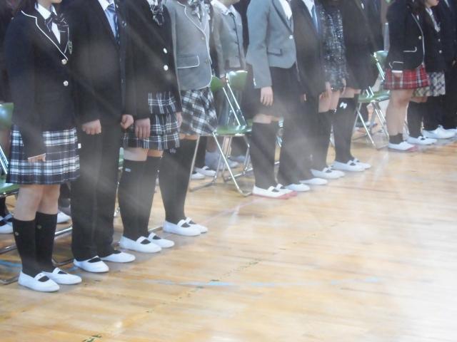 学校ごとに制服が異なる
