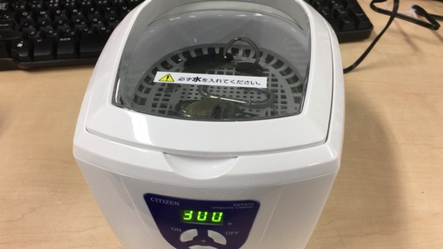超音波洗浄機でiQOSを掃除