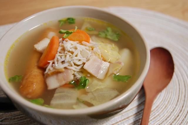 キャベツのスープはファイトケミカルを摂取しやすい
