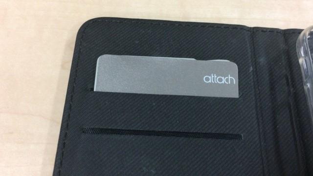 iphoneケースの手帳