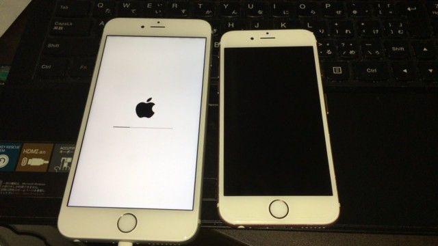 iPhone6Sと6S Plusの大きさの差