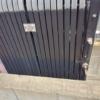 門扉の掃除